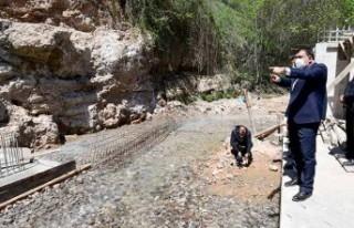 Büyükşehir Belediyesi 3 yeni su kaynağında çalışmalarını...