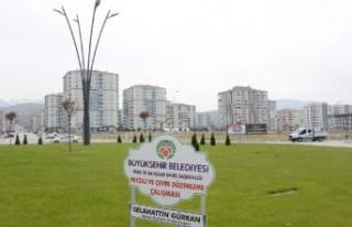 Büyükşehir Belediyesi Çiftlik Caddesinde 220 Fidan...