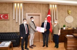 Doğanşehir Söğüt Göletinin rezervuar alanı...