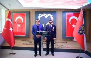 Gürkan'dan İl Emniyet Müdürü Dağdeviren'i...
