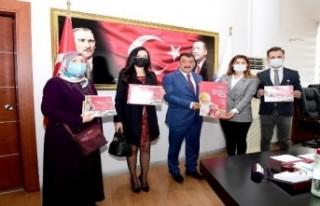 LÖSEV Çalışanları Başkan Gürkan'ı Ziyaret...