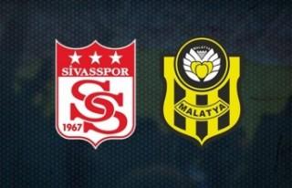 Maç Sonucu: Sivasspor 1-0 Yeni Malatyaspor