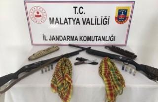 Terör örgütü propagandası yapan şahıs Doğanşehir'de...