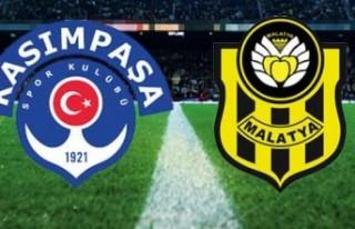 Yeni Malatyaspor Kasımpaşa Deplasmanından 1 Puanla...