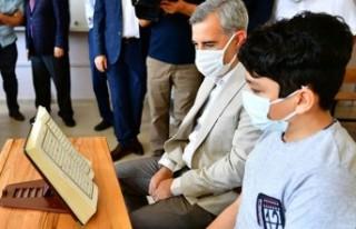 Başkan Çınar, Tobb Hafız İmam Ortaokulunu Ziyaret...