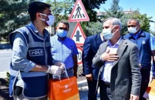 Başkan Çınar'dan Güvenlik Güçlerine Moral...