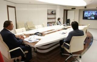 Başkan Gürkan, 'Telafide Ben De Varım' Toplantısına...