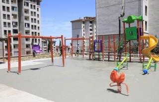 Battalgazi'de 32 Parkta Yenileme Çalışması Başladı
