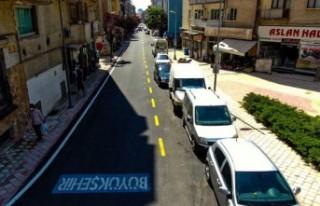 Cezmi Kartay Caddesinde Çalışmalar Tamamlandı