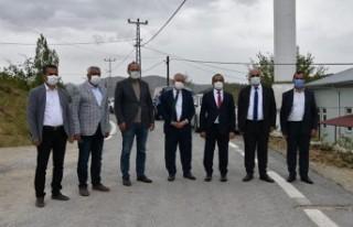 Maski, Beğre'ye Kapalı Sulama Sistemi Yaptı
