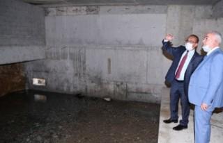Müdür Karataş, yeni su kaynağında inceleme yaptı