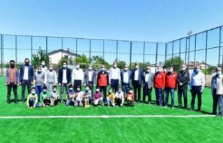 Tohma'nın Çehresi Sosyal ve Sportif Yatırımlarla...