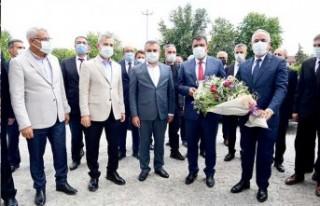 Bakan Yardımcısı Tunç'tan Başkan Gürkan'a...
