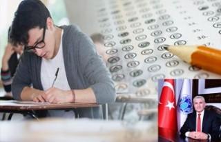 Başkan Güder'den YKS Sınavında Başarılı...