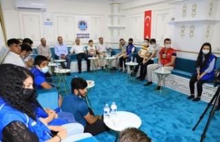 Başkan Güder, Türkiye'nin Geleceği Gençlerle...