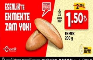 Başkan Gürkan'dan Ekmeğe Zam Yapmayın Talimatı