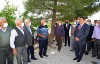 Başkan Gürkan, Yukarıörükçü'de Vatandaşlarla...