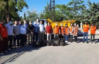 Başkan Kahveci, 'En Güzel Temizlik Kirletmemektir'