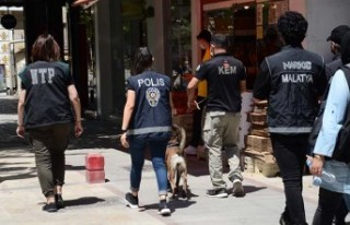 Malatya'da 'Huzurlu Sokaklar ve Narkotik...