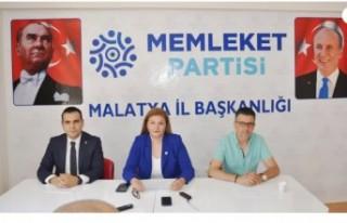 Memleket Partisi Malatya İl Teşkilatı Basınla...