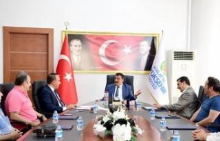 TÜRES Derneği Malatya Şubesinden Başkan Gürkan'a...