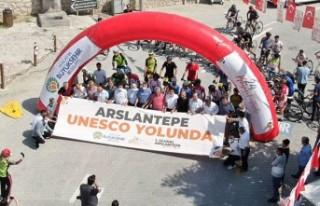 1.Ulusal Arslantepe Bisiklet Yarışı Yapıldı