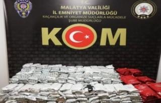 206 Kilogram Kaçak Nargile Tütünü Ele Geçirildi