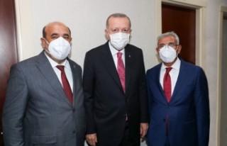 Başkan Güder, Cumhurbaşkanı Erdoğan İle Bir...