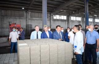 Başkan Gürkan, Meston'da İncelemelerde Bulundu