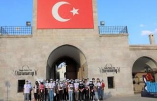 Öğrenciler Battalgazi'de Tarihi Yolculuğa Çıktı
