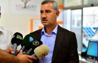 Yeşilyurt Belediye Başkanı Mehmet Çınar, Kurban...
