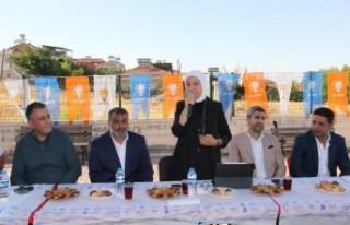 AK Partili Çalık: Türkiye'yi yıkmak isteyenlere...