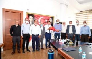 Akçadağ Muhtarlarından Başkan Gürkan'a Teşekkür...