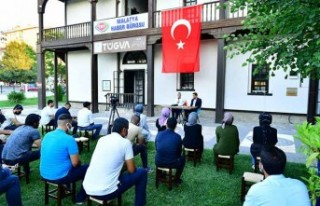 Başkan Çınar, Tügva Malatya Şubesinin Açık...