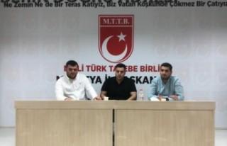 Başkan Özhüsrev'den  MTTB'ye ziyaret