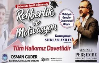 Battalgazi Belediyesi, Yazar Aslanhan'ı Öğrencilerle...