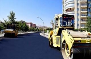 Büyükşehir Belediyesi Tarafından Gönültaş Caddesi...