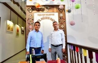 Çırmıhtı'nın Tekstil Kültürünü Özel Bir...
