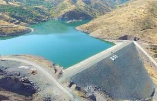 Malatya merkez yaygın göleti sulaması inşaatı...