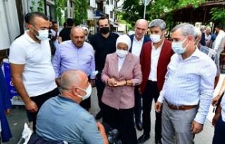 Milletvekili Çalık İle Belediye Başkanı Çınar,...