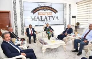Ahilik Haftası Kutlama Heyetinden Başkan Gürkan'a...