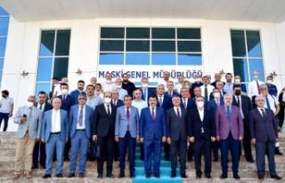 Başkan Gürkan'dan Maski'ye Ziyaret