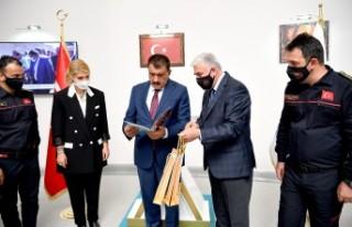 İtfaiye Teşkilatından Başkan Gürkan'a Ziyaret