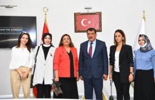 KADEM Malatya İl Temsilciliğinden Başkan Gürkan'a...