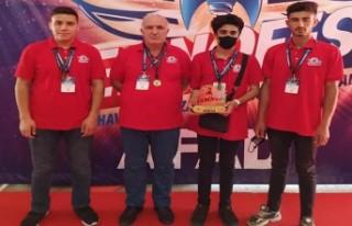 Malatya TSO TOBB proje okulu TEKNOFEST'te Türkiye...