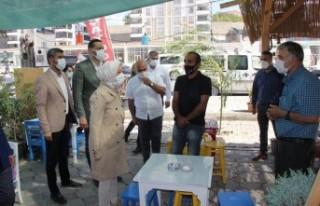 Malatya'yı Karı Karış Gezen Çalık, Vatandaşların...