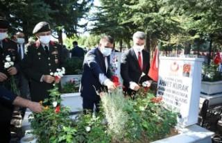 Malatya'da 19 Eylül Gaziler Günü Kutlamaları...