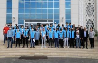 Öğrenciler Teknofest İstedi, Başkan Güder Geri...