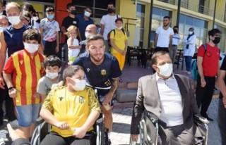 Yeni Malatyaspor Özel Misafirlerini Ağırladı