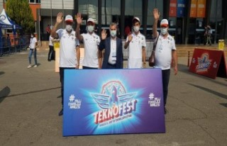 Yeşilyurt Belediyesi'nin Destekleriyle Teknofest...